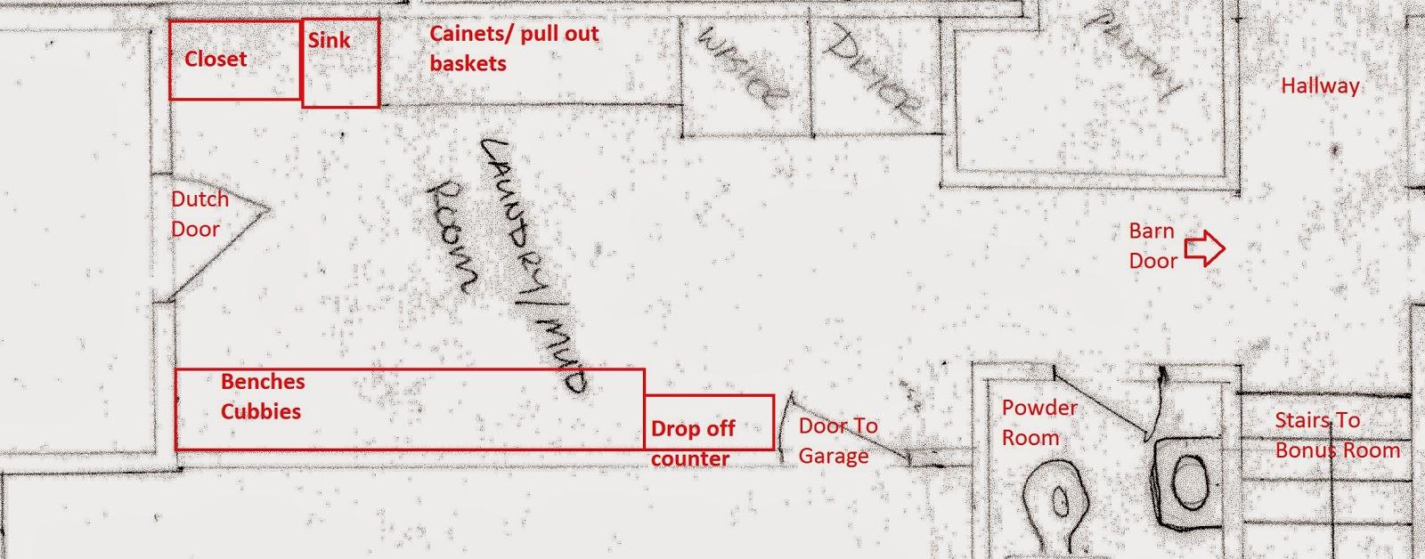 Fabulous Mudroom Laundry Room Floor Plans Inspirational Interior Design Netriciaus